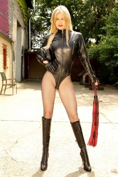 Scarlet-LeatherLeotard-Whip
